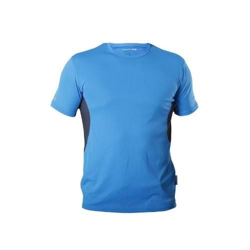 Tričko funkčné 120g / m2, modro-šedé 2XL, LAHTI PRO