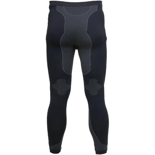 Nohavice termo - spodná bielizeň, čierno-šedé, veľ. 2XL