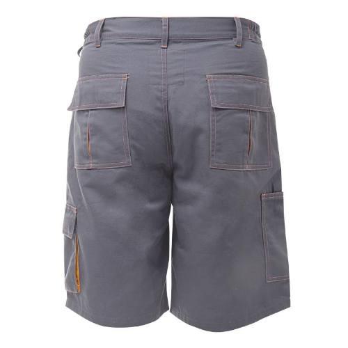Nohavice krátke, šedé, M 164-170 / 82-86, LAHTI PRO