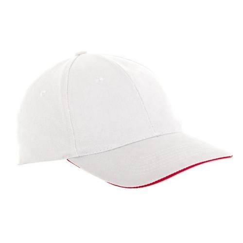 Čiapka baseballová univerzálny L1811300, biela, LAHTI PRO