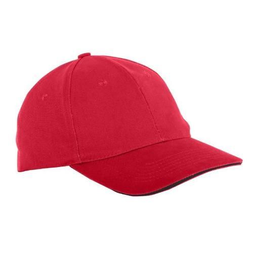 Čiapka baseballová univerzálna L1813300, červená, LAHTI PRO