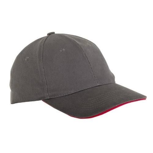 Čiapka baseballová univerzálna L1814300, šedá, LAHTI PRO